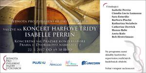 Koncert harfové třídě Isabelle Perrin