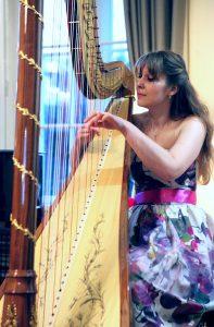 Barbora Plachá, harfa